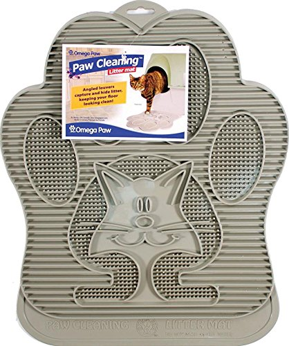 Omega Paw Paw Cleaning Litter Mat Tan Jolly X Dolly